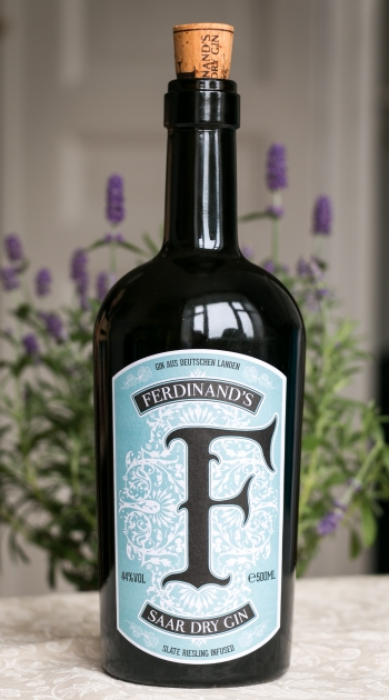 Ferdinand's Saar Dry Gin. Photo by Michael Sperling.