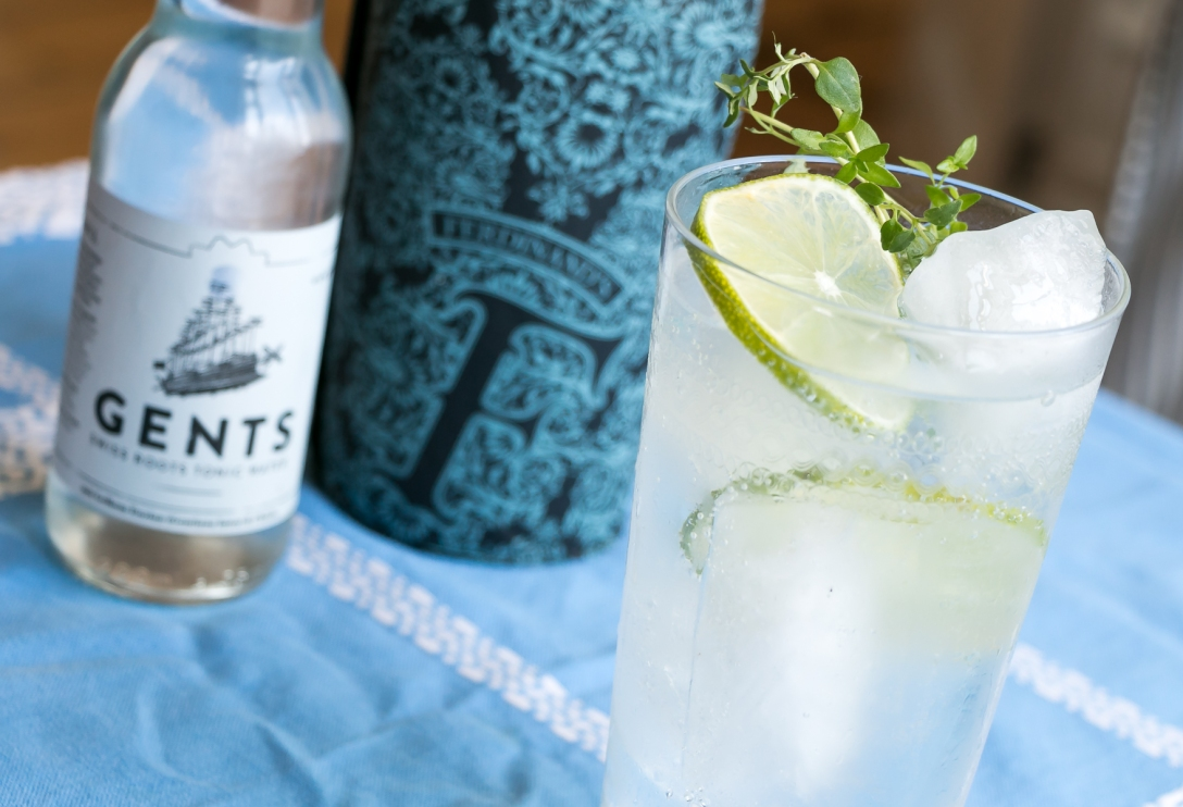 Ferdinand's Saar Dry Gin GT. Photo by Michael Sperling.