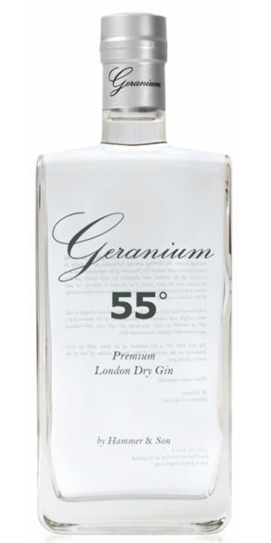Geranium Gin 55. Photo by Hammer & Son.