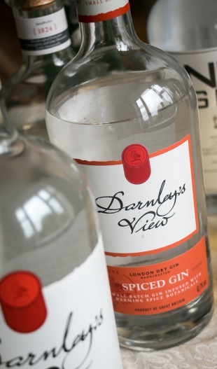 Darnley's View Spiced Gin - Gins of Scotland. Photo by Michael Sperling.