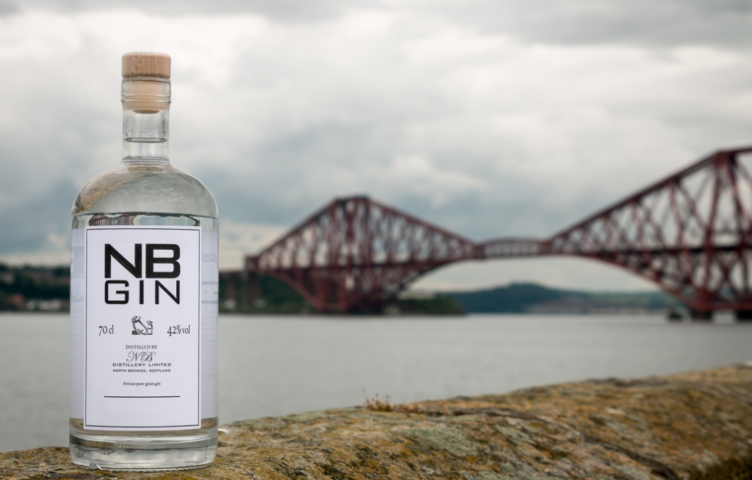NB Gin - Gin of Scotland. Photo by Michael Sperling.
