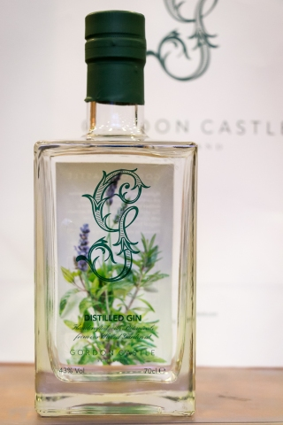 Gordon Castle Gin. Photo by Michael Sperling.