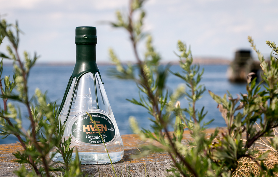 Hven Organic Gin. Photo by Michael Sperling.