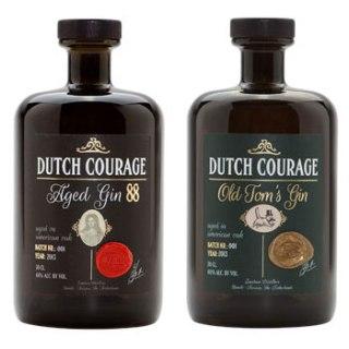 Zuidam Dutch Courage Old Tom og Aged Gin. Photo: Zuidam Distillery.