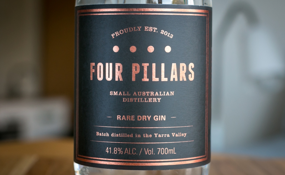 Four Pillars Rare Dry Gin. Photo by Michael Sperling.