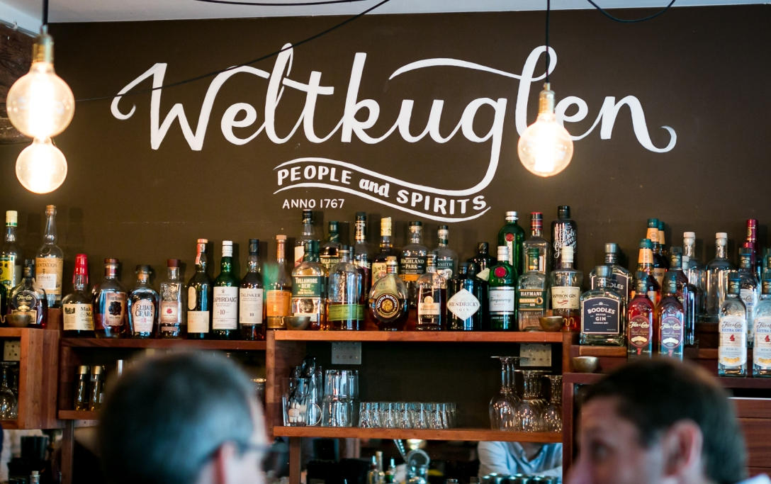 Weltkuglen til Copenhagen Gin Walk #5. Photo: Michael Sperling.