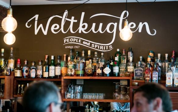 Weltkuglen til Copenhagen Gin Walk #5. Photo: Michael Sperling.