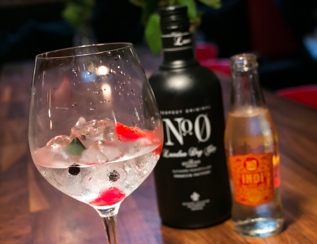 No. 0 Gin & Indi Tonic. Photo by Michael Sperling.