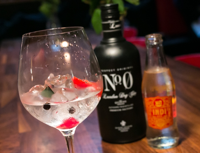 No. 0 Gin & Indi Tonic. Photo by Michael Sperling.