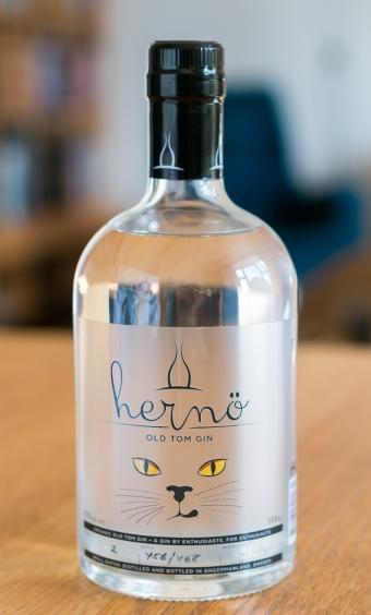 Hernö Old Tom Gin. Photo by Michael Sperling.