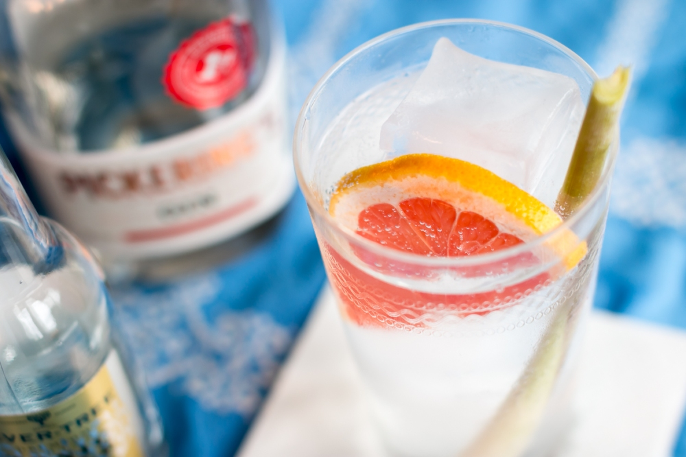 Pickering's Gin & Fever-Tree Tonic. Photo by Michael Sperling.