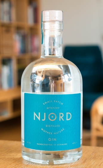 Njord Gin. Photo by Michael Sperling.