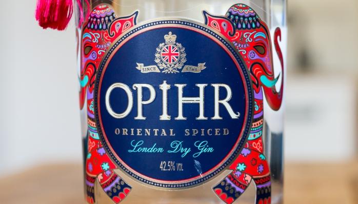 Opihr Oriental Spiced Gin. Photo by Michael Sperling.