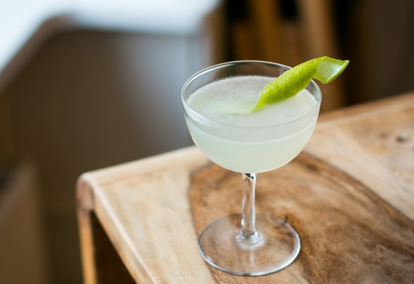 Gimlet med Kimerud Distilled Gin. Photo by Michael Sperling.