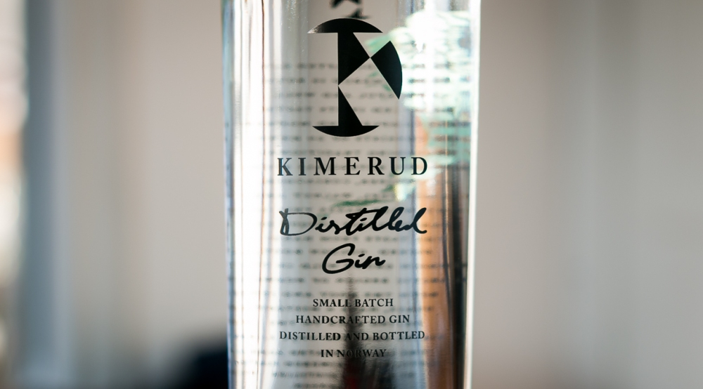 Kimerud Distilled Gin. Photo by Michael Sperling.