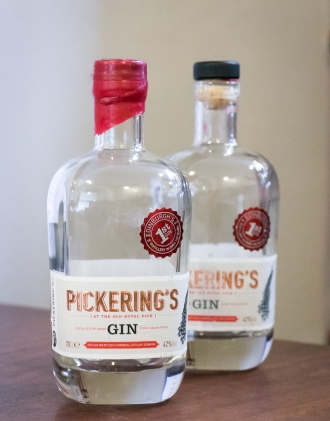 Pickering's Gin at Summerhall Distillery. Photo by Michael Sperling.
