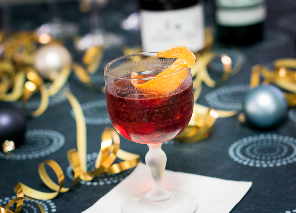Vale of the Martinez med Edinburgh Raspberry Gin. Photo by Michael Sperling.