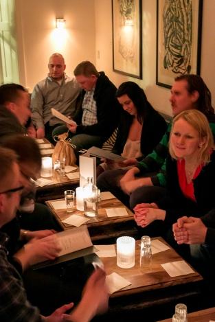 Vel ankommet til K-Bar. Photo by Michael Sperling.