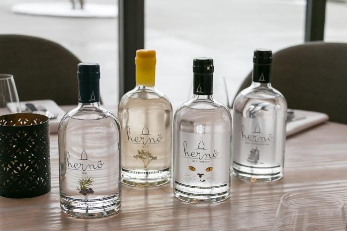 Hernö gins på Verandah. Photo by Michael Sperling.