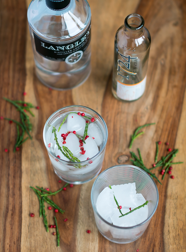 Gin & Tonic med Langley's No. 8 Gin og 1724 Tonic Water. Photo by Michael Sperling.