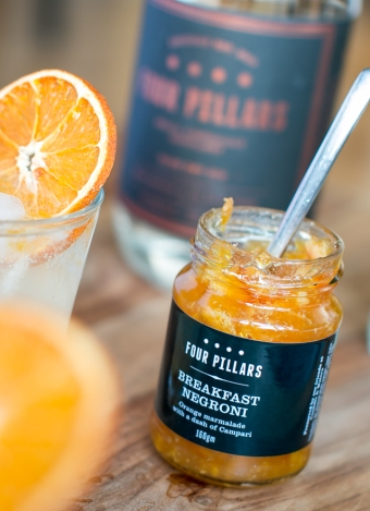 Four Pillars Breakfast Negroni Marmelade. Photo by Michael Sperling.