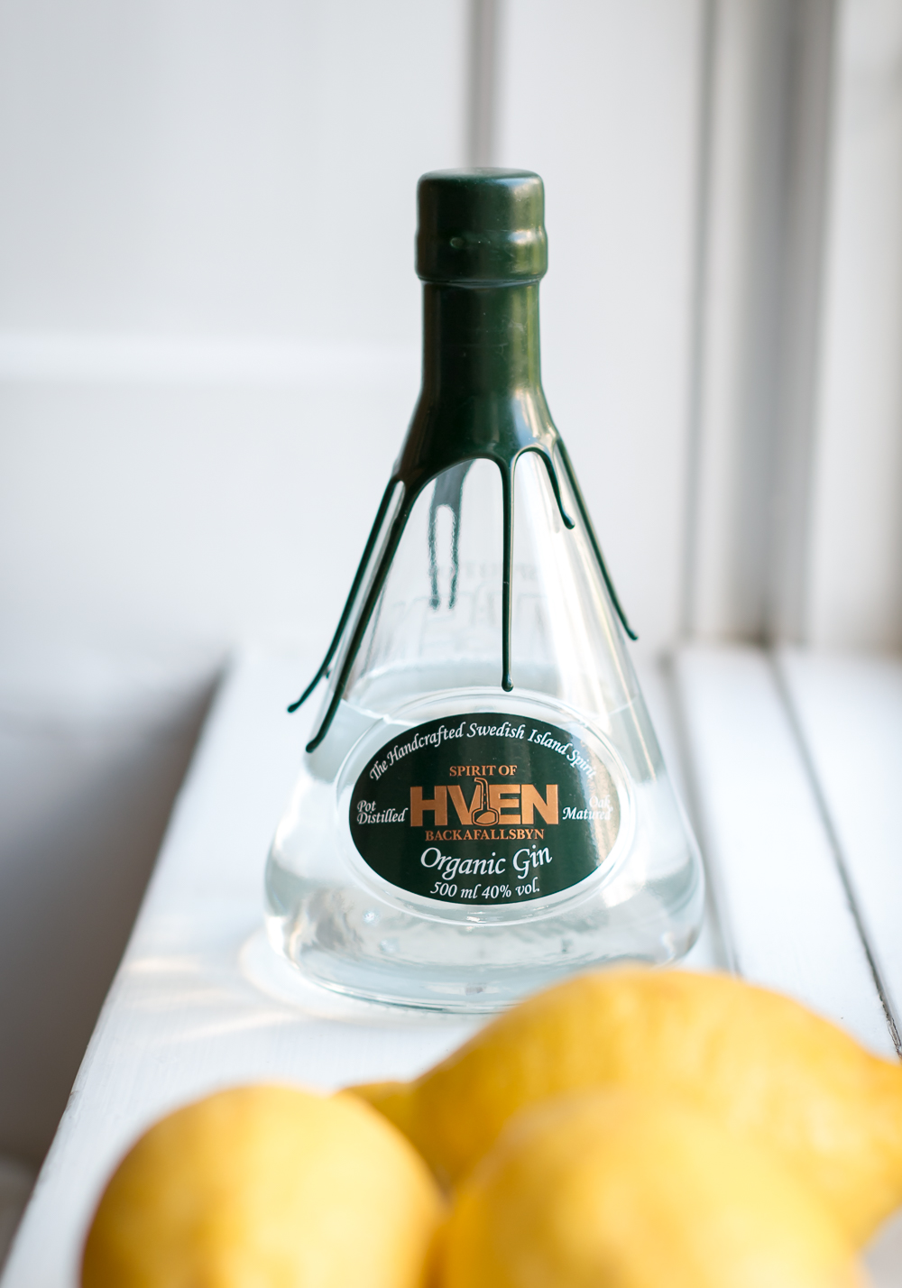 Hven Gin. Gin and Tonic. Photo by Michael Sperling.