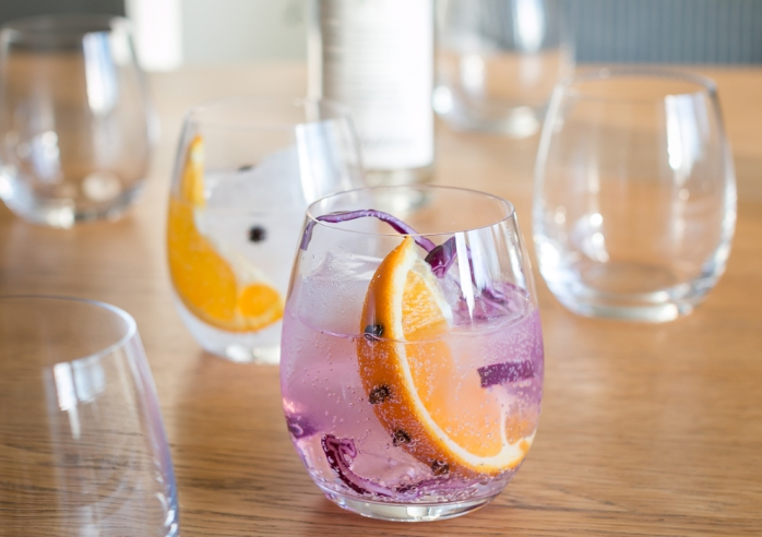 Nordisk Gin & Tonic. Photo by Michael Sperling.