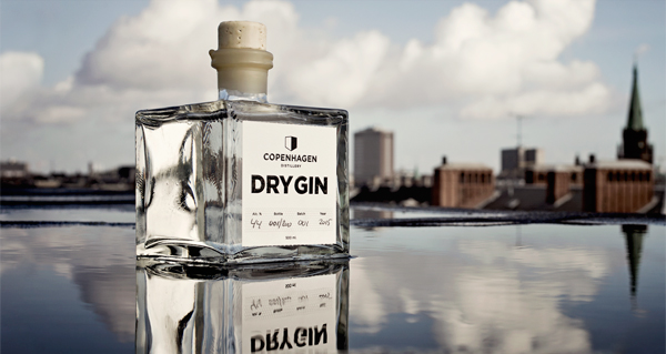 Copenhagen Dry Gin. Photo by Copenhagen Distillery.
