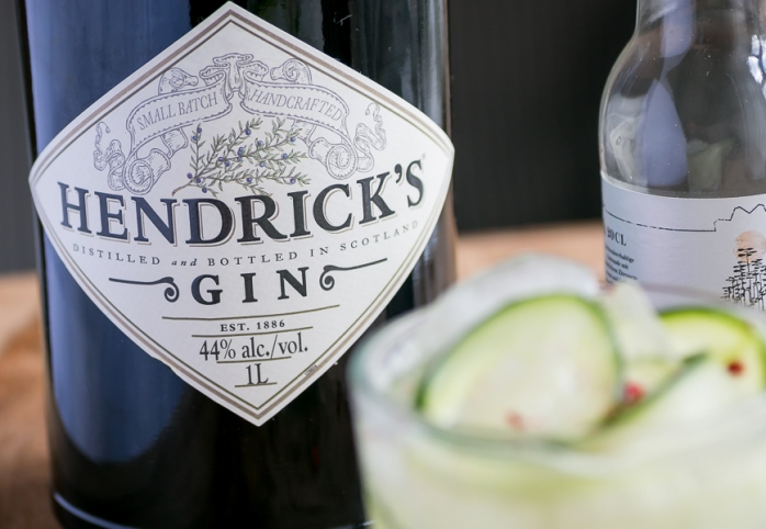 Hendrick's Gin & Tonic. Photo By Michael Sperling.