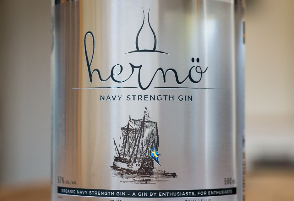 Hernö Navy Strength Gin. Photo by Michael Sperling.