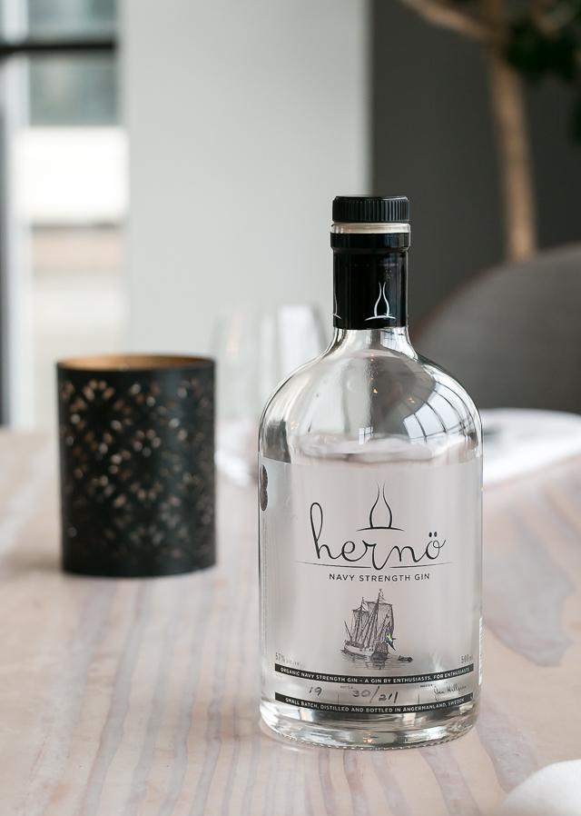 Hernö Navy Strength Gin. Photo by Michael Sperling.