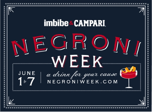 Negroni Week. Photo by Imbibe.