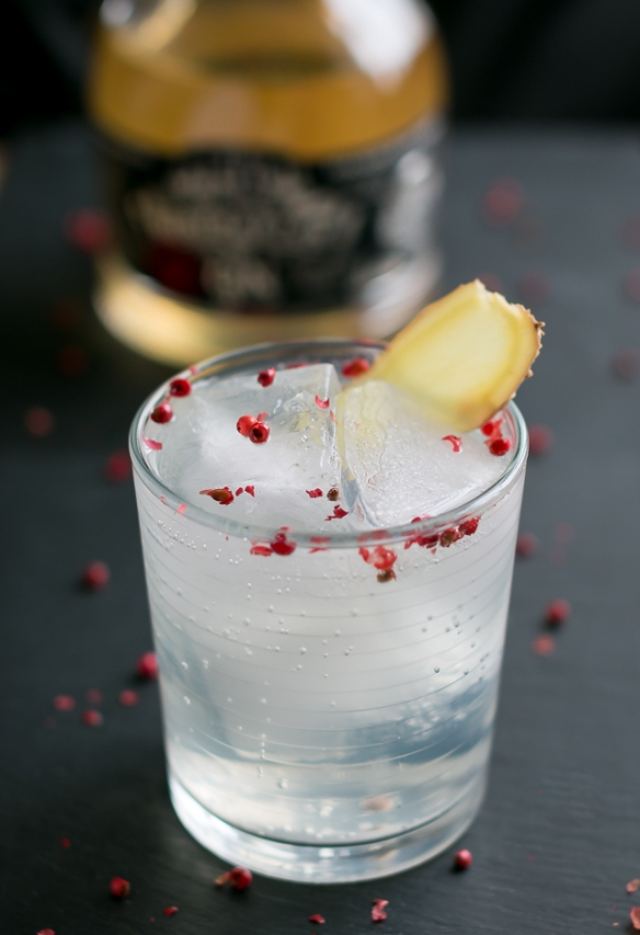 Gin and Tonic med Roby Marton Gin. Photo by Michael Sperling.