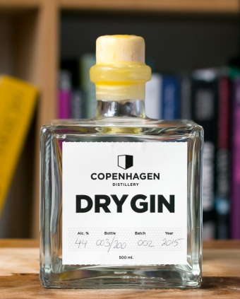 Copenhagen Dry Gin. Photo by Michael Sperling.
