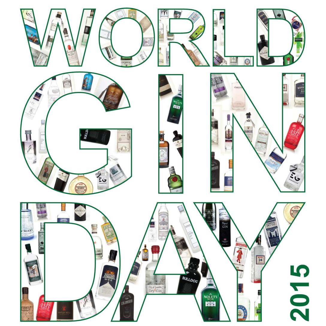 World Gin Day 2015. Photo by WorldGinDay.com.