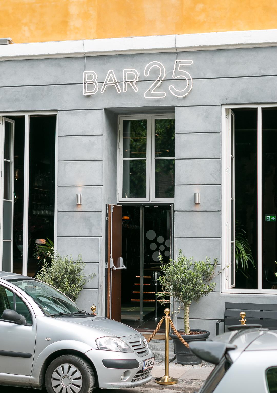 Bar25. Photo by Michael Sperling, En Verden af Gin.