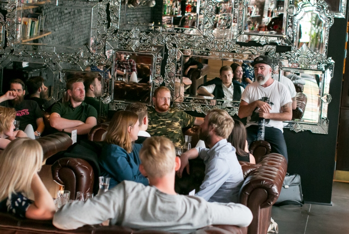 The West Winds Gin Master Class med Jeremy Spencer på Bar25. Photo by Michael Sperling, En Verden af Gin.
