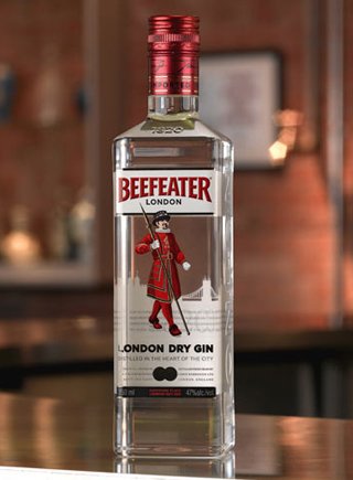 Beefeater London Dry Gin. Photo by Beefeater Gin and Four by Two.