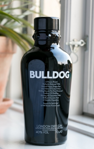 Bulldog Gin. Photo by Michael Sperling, En Verden af Gin.