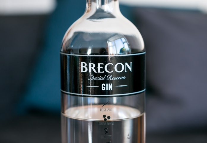 Brecon Special Reserve Gin. Photo by Michael Sperling, En Verden af Gin.