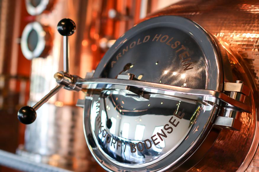Hernö Gins nye 1000-liter destillator Marit. Hernö Brenneri. Photo by Michael Sperling, En Verden af Gin.