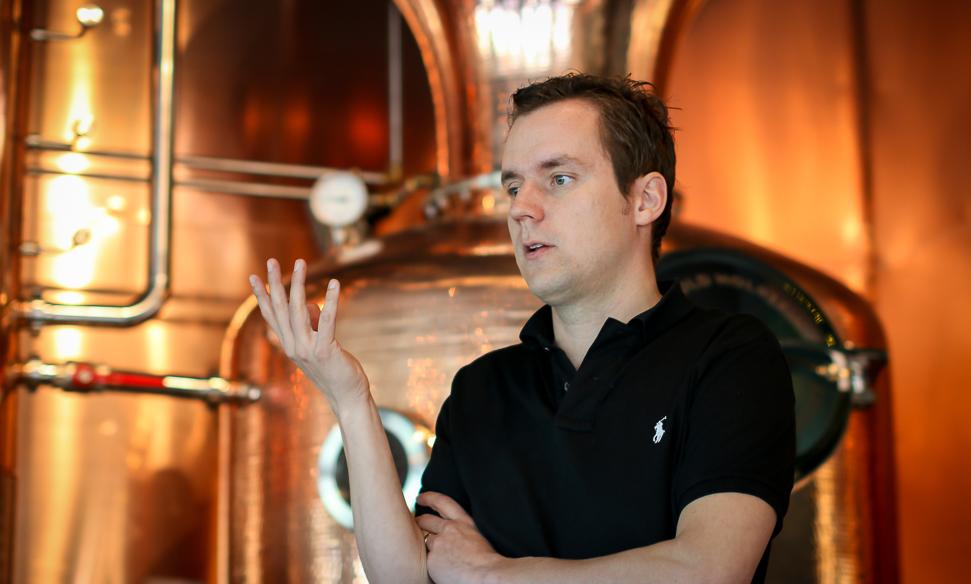 Master Distiller og grundlægger af Hernö Gin. Hernö Distillery. Photo by Michael Sperling, En Verden af Gin.