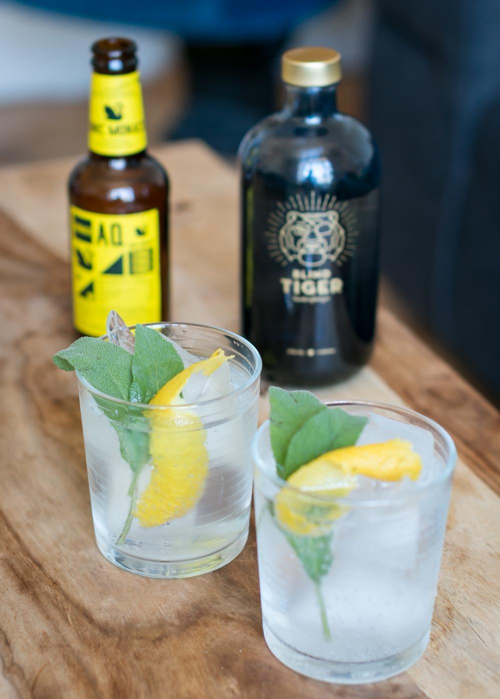 Blind Tiger Gin og Monaco Tonic. Photo by Michael Sperling, En Verden af Gin.