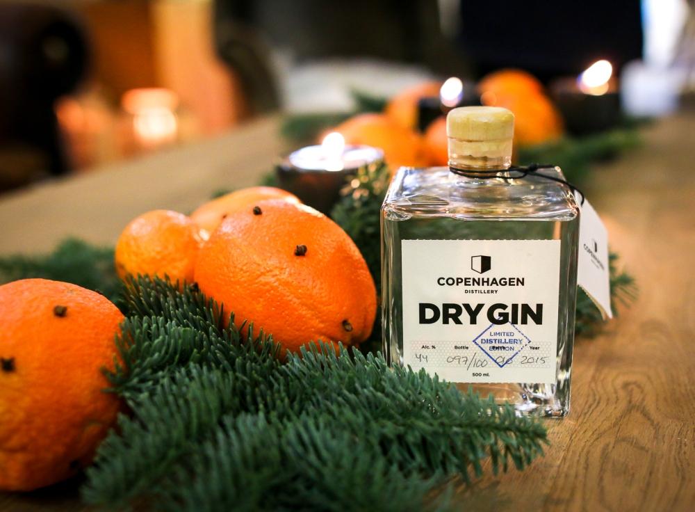 Copenhagen Distillery. Juleåben. Photo by Michael Sperling, En Verden af Gin.