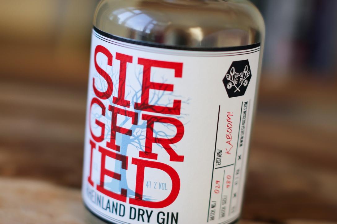 Siegfried - Rheinland Dry Gin . Photo by Michael Sperling, En Verden af Gin.