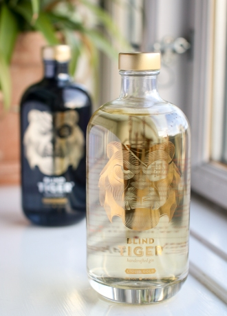 Blind Tiger Gin Liquid Gold. Photo by Michael Sperling, En Verden af Gin.