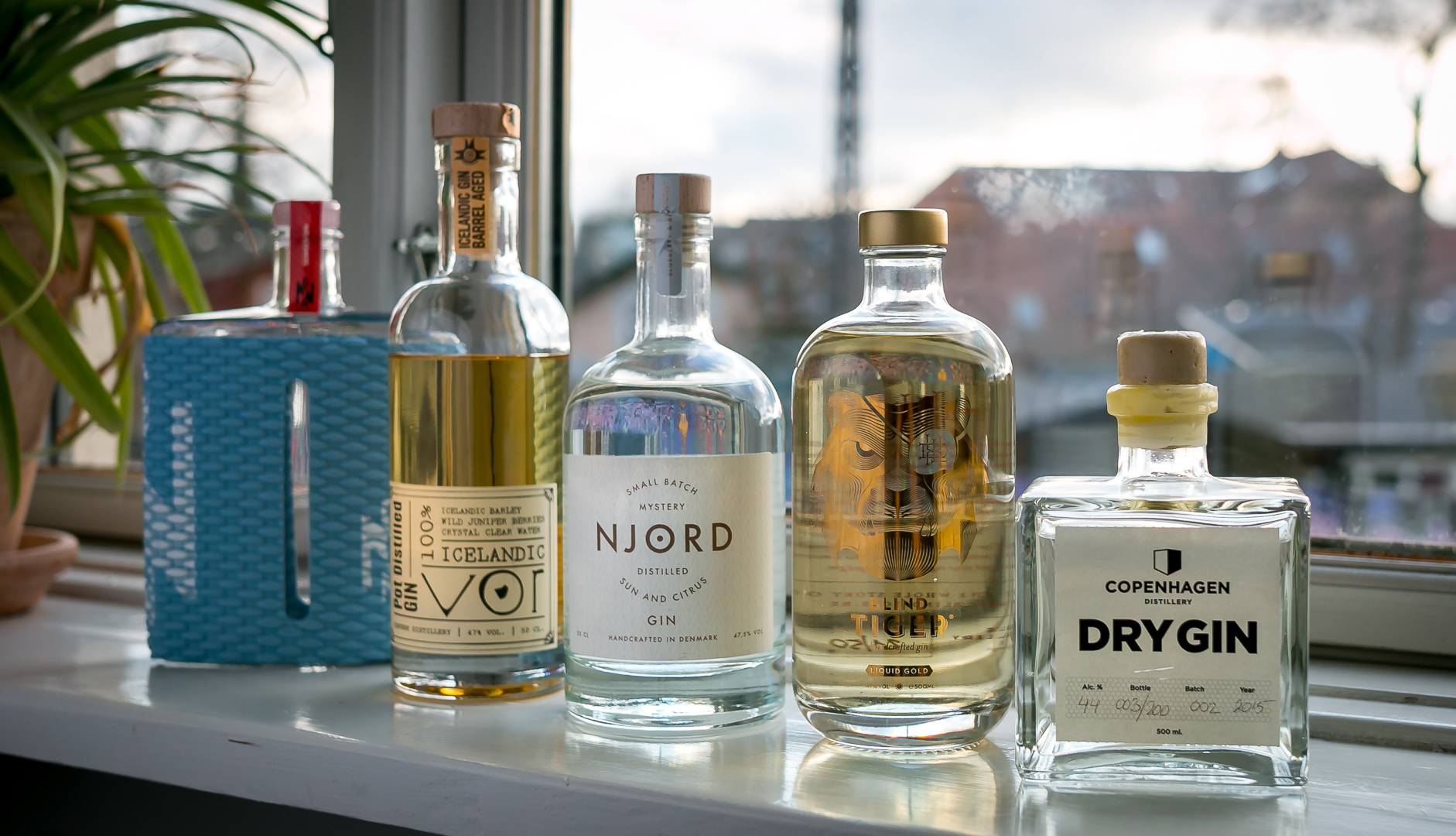 Best Gins of 2015. Photo by Michael Sperling, En Verden af Gin.