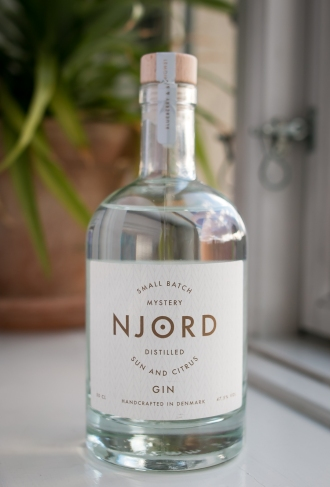 Njord Gin Sun and Citrus. Photo by Michael Sperling, En Verden af Gin.