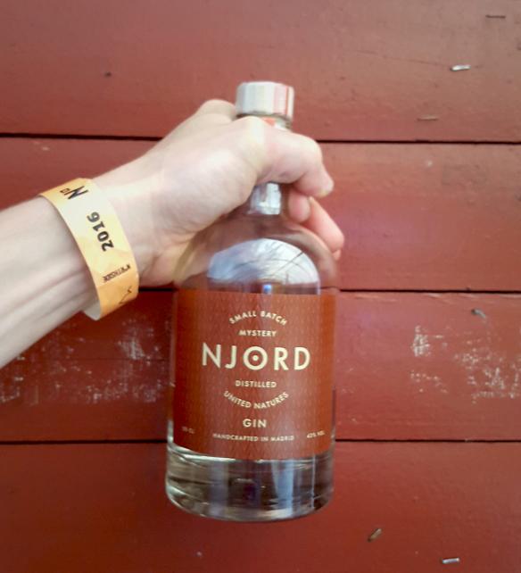Den nye Njord Distilled United Natures afsløres på årets NorthSide. Photo by Spirit of Njord.