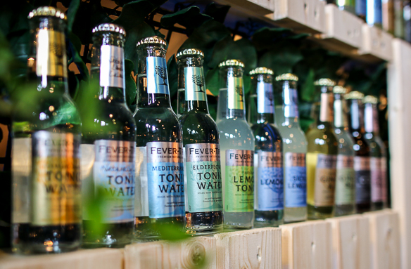 Fever-Tree Tonic. Photo by Michael Sperling.